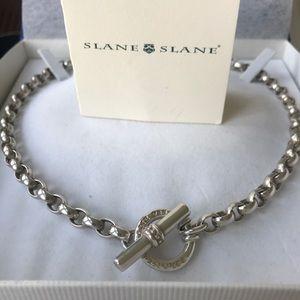 Slane & Slane signature silver necklace